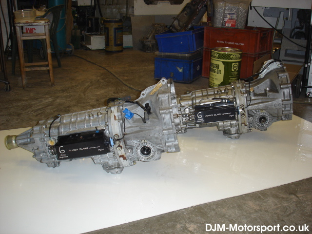 Modena 6 speed subaru sequential gearbox kit
