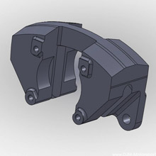 Re-Engineered Brake Caliper