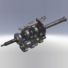 Re-Engineered Re built classic car gearbox